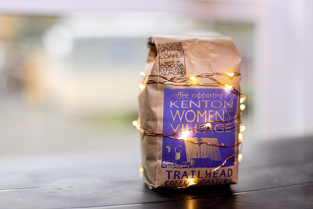 Kenton Women's Village coffee bag