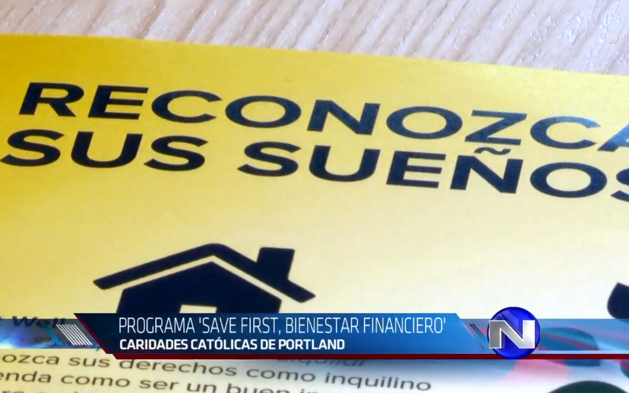 Save First featured on Univision, 20 August 2019