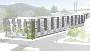 Architectural renderings of St. Johns building project